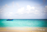 Anguilla caribbean BWI clear water beach